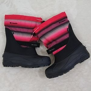 Columbia Boots Size 7 Youth